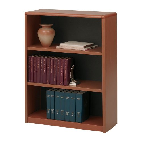 (Value Mate Series Bookcase, 3 Shelves, 31-3/4w x 13-1/2d x 41h, Cherry PNo: 7171CY)