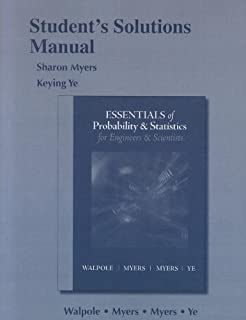 Amazon essentials of probability statistics for engineers student solutions manual for essentials probability statistics for engineers scientists fandeluxe Choice Image