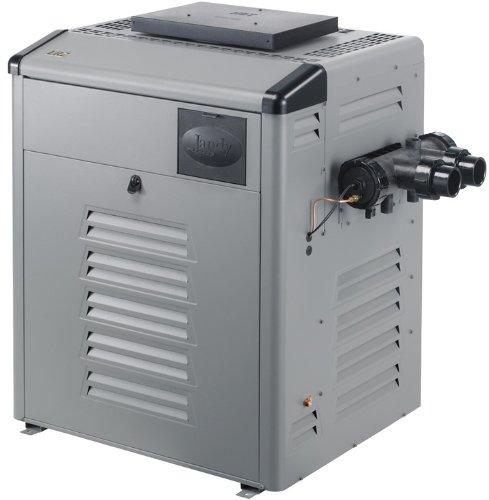 Zodiac Legacy LRZ125EPCH Digital Control 125K BTU Propane Gas High Altitude Bronze Header Heater with Copper - Copper Patio Heater Bronze