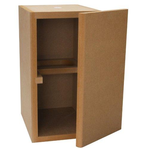 Denovo Audio Knock-Down MDF 0.56 cu. ft. Bookshelf Speaker (Mdf Speaker Cabinets)