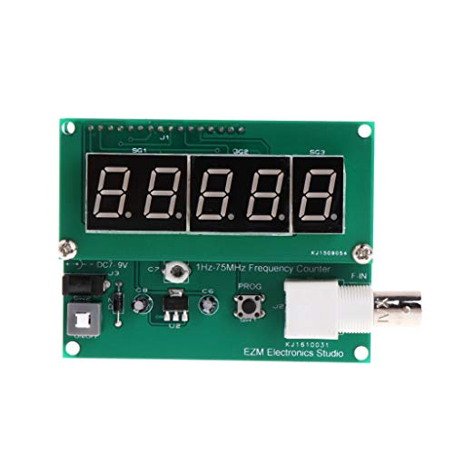 SQLang 1Hz-75MHz Frequency Counter 7V-9V 50mA Cymometer Module Tester Meter