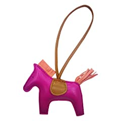 Horse Purse charms for handbags is rodeo design good for women handbags accessories, it made your bag color cute fashionable