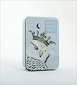 White Sage Tarot Deck Cards 78 cards Cards in tin box Soft pastel colors