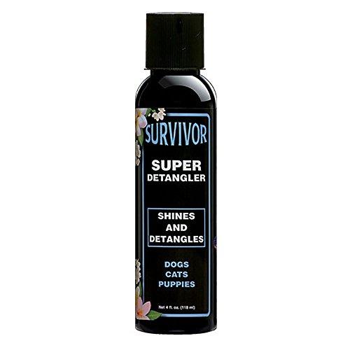 Eqyss Survivor Detangler and Shine, 4-Ounce