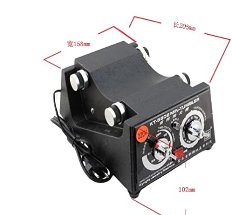 Amazon.com: 3 kg giratorio Tumbler joyas & Finisher + extra ...