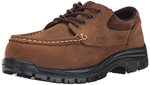 Nautilus 1826 Slip Resistant Comp Toe No Exposed Metal EH Moc Toe Oxford,Brown,10 M (Toe Slip Resistant Oxford)