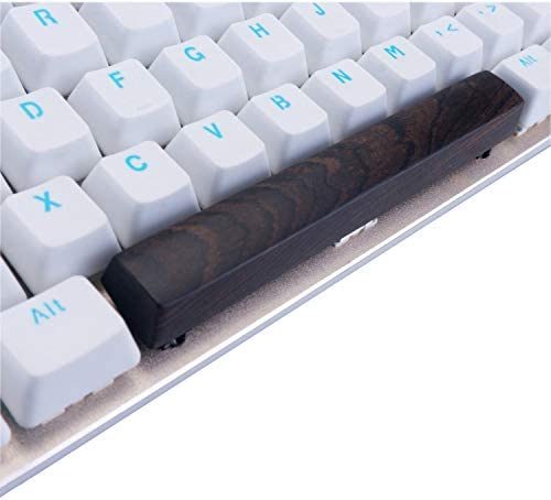Space Bar Wooden Keycap 6.25X OEM Height Keycaps Suitable for MX Switch,1
