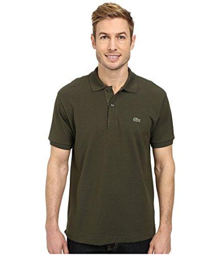 Lacoste Men's Classic Short Sleeve L.12.12 Pique Polo Shirt,Baobab Green,Small ()