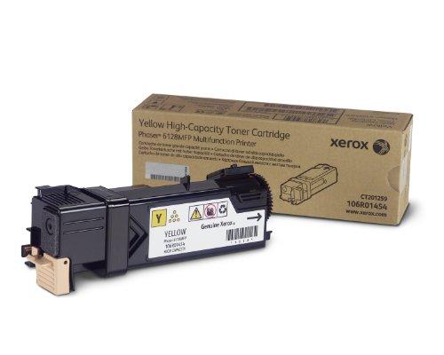 Xerox 106R01454 Toner Cartridge (Yellow,1-Pack) in Retail Packaging