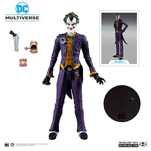 """McFarlane Toys DC Multiverse Batman: Arkham Asylum The Joker 7"""" Action Figure"""