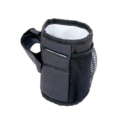 JL Childress Cup 'N Stuff Stroller Pocket, Black