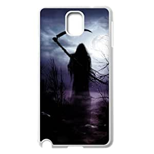 C-EUR Customized Print Grim Reaper Hard Skin Case Compatible For Samsung Galaxy Note 3 N9000