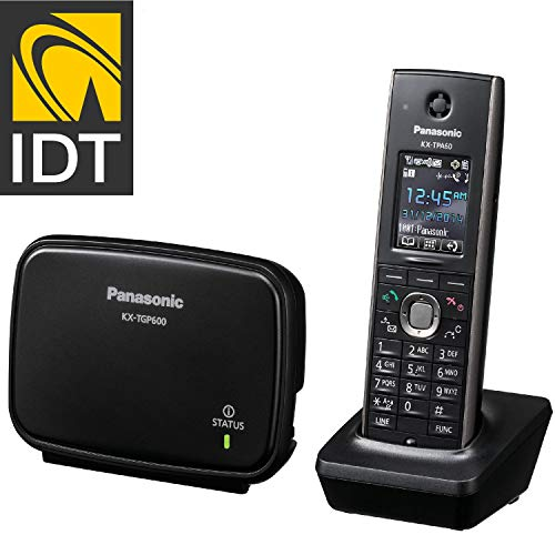 Panasonic KX-TGP600 SIP DECT Base Unit with KX-TPA60 Cordless Handset Business System Pre-programmed by IDT TELECOM by Panasonic (Image #1)