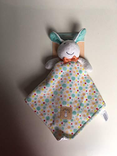 Pat The Bunny Plush - Pat The Bunny Blanky White Rabbit with Multi