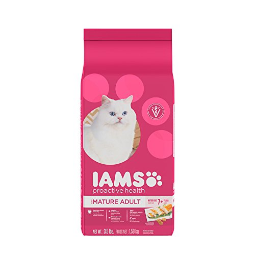 IAMS Proactive Health Senior Adult Dry Cat Food 41sr P23faL
