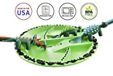 Constructive Eating Dinosaur Combo with Utensil Set and Plate for Toddlers, Infants, Babies and Kids - Flatware Toys are Made in The USA with FDA Approved Materials for Safe and Fun Eating, Green