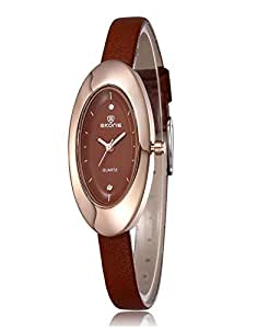 Casual Watch For Women Analog Leather band