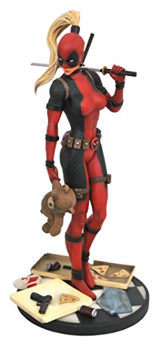 (DIAMOND SELECT TOYS Marvel Premier Collection: Lady Deadpool Resin)