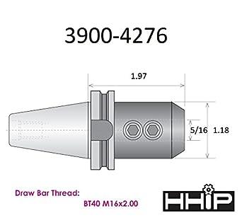 HHIP 3900-4235 End Mill Holder BT-30 3//8
