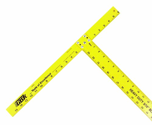 Drywall T-square (Task Tools T58054 54-Inch Heavy Duty Aluminum T Ruler)