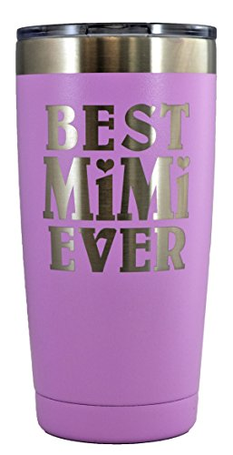MIMI GIFT – Engraved BEST MIMI EVER Stainless Steel Tumble