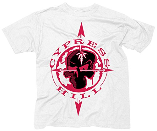 Cypress Hill- Skull & Compass T-Shirt Size XXXL (Cypress Hill Clothing compare prices)