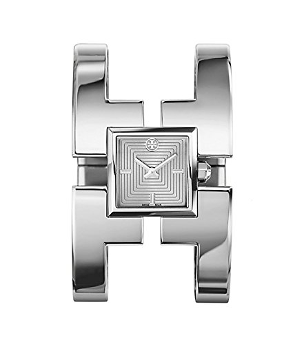 - TORY BURCH SAWYER WOMENS WATCH SILVER BRACELET STAINLESS STEEL TRB5004