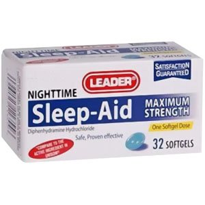 PH4923652 - Leader Maximum Strength Sleep Aid Softgels (32 Count)