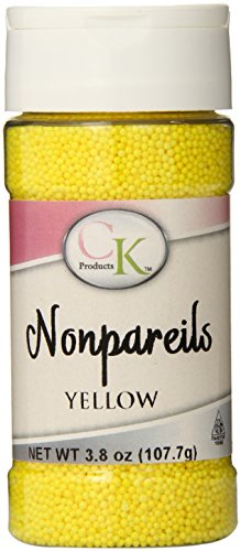 CK Products 4 Ounce Non Pareils Bottle, -