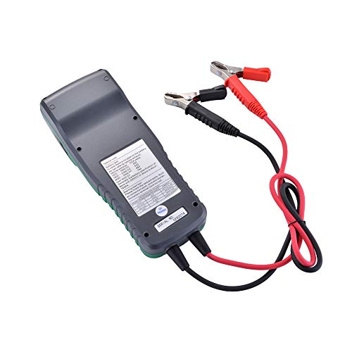 XCSOURCE DY2015B Automotive Battery Tester Battery Analyzer Tool Thermal Printer MA1904 by XCSOURCE (Image #3)