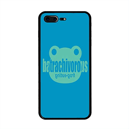 iPhone 7 Plus/iPhone 8 Plus Case, Batrachivorous Frog Eating TPU Customization for iPhone 7 Plus/iPhone 8 Plus 5.5 inch Protective Shell ()