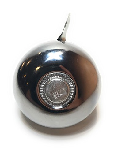 (Rompak Bike Bell|Beautiful Silver-Chrome Look|Classic Sound Excellent for Mountain or Street Bicycles, Scooters, Cruisers, Electric Bikes, or Mopeds)