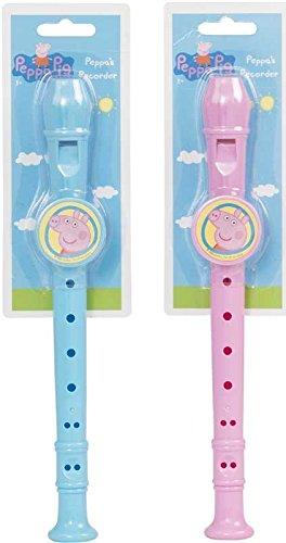 Peppa Pig grabadora - 1 elegido al azar (azul/rosa): Amazon.es: Instrumentos musicales
