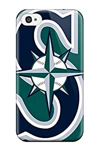 Awesome PfMlGJt692UFgeq DanRobertse Defender Tpu Hard Case Cover For Iphone 4/4s- Seattle Mariners