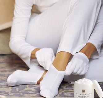 Healthcare Cotton Socks & Gloves Set Spa Beauty Palour. Moisturising Excellent for Eczema & Dermatitis One Size Healthcare Discount Store Ltd