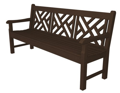 Chippendale Garden Bench - POLYWOOD RKCB72MA Rockford 72