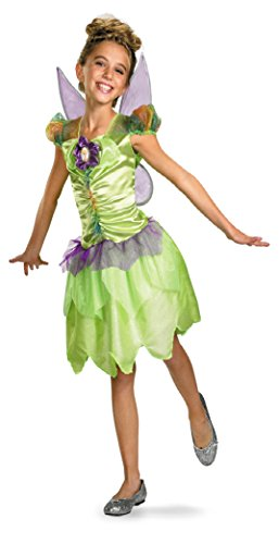 Girls Tinker Bell Rainbow Kids Child Fancy Dress Party Halloween Costume, S (4-6) (Tinkerbell Costume For Toddler)