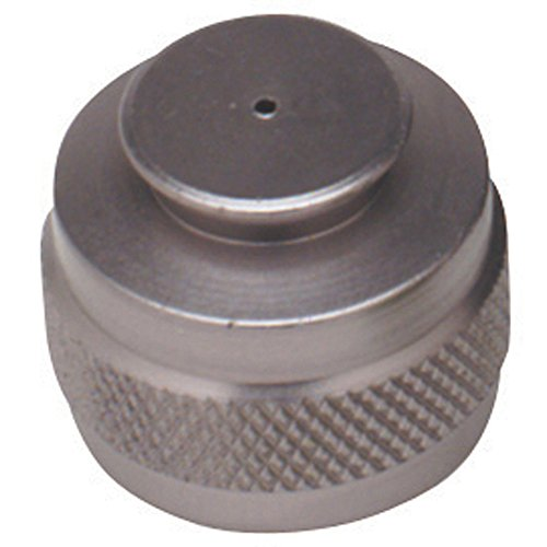 Pure Energy CO2 Tank Thread Protector Silver Pure Energy Co2 Tank