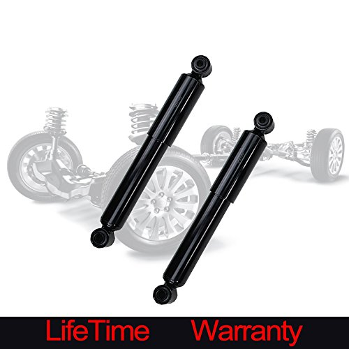 Vekwena Set Of 2 Rear Pair Suspension Gas Strut Shock Absorber For 01-06 Acura MDX & 03-2008 Honda Pilot (2001 Acura Mdx Shock)