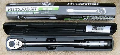 PITTSBURGH Pro 1/2'' Reversible Torque Wrench
