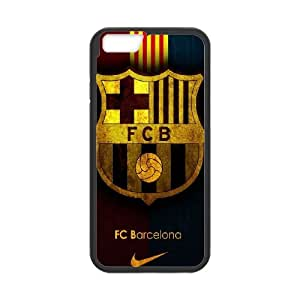 Fc Barcelona Team Logo iphone 6 4.7 Inch Cell Phone Case Black Phone Accessories JV184245