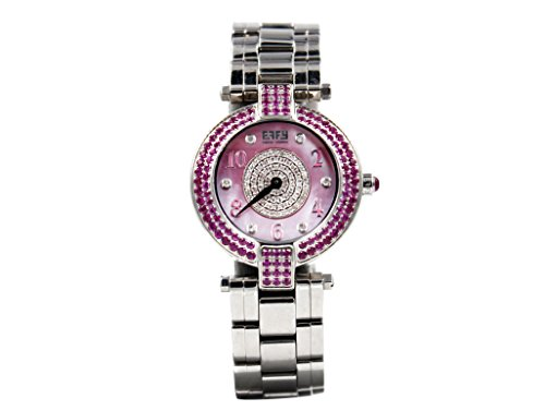 Effy Diamond & Pink Sapphire Unisex Luxury New Unique Brand Exotic Watch - Effy Watch
