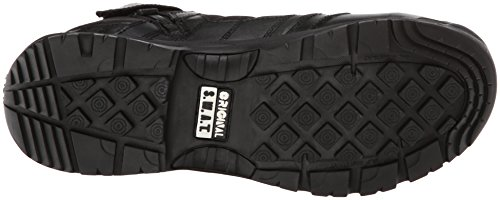 Swat Originale Mens Métro 5 Travail Zip Comp Toeside Botte Noire