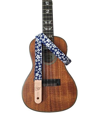sherrins-threads-1-ukulele-strap-blue-hibiscus