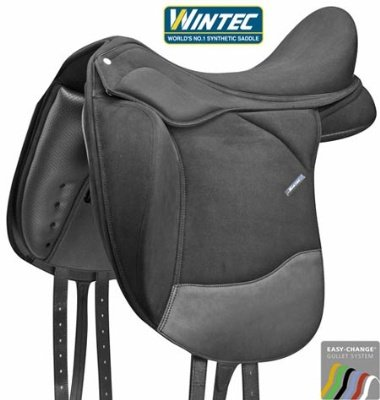 Wintec Pro Dressage Contourbloc Saddle CAIR 17