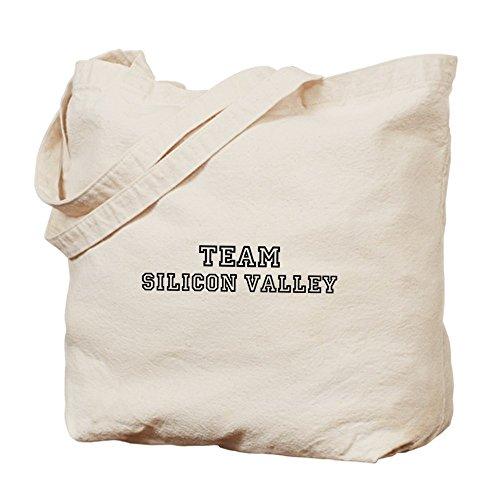 Equipo de CafePress–Silicon Valley–Gamuza de bolsa de lona bolsa, bolsa de la compra