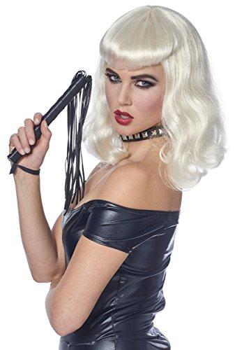 Costume Culture Women's Bettie Wig, Platinum, One (Bettie Adult Costume)
