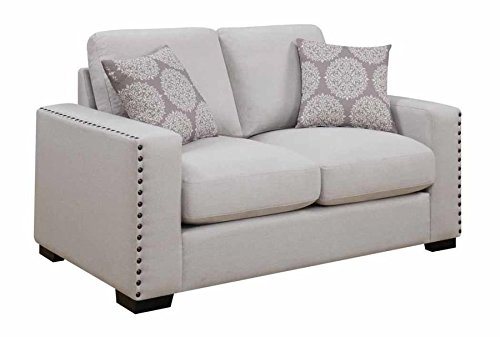 1PerfectChoice Rosanna Natural Loveseat