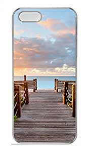 Sea Of Hawaii Customized Popular DIY Hard Back Case Cover For iPhone 5 5S Hard Transparent
