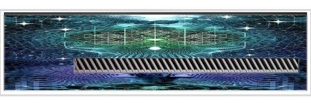 Mandala Art Yoga Sitting Spiritual Nebula Stars Printed Design Xbox One Kinect Vinyl Decal Sticker Skin by Smarter Designs